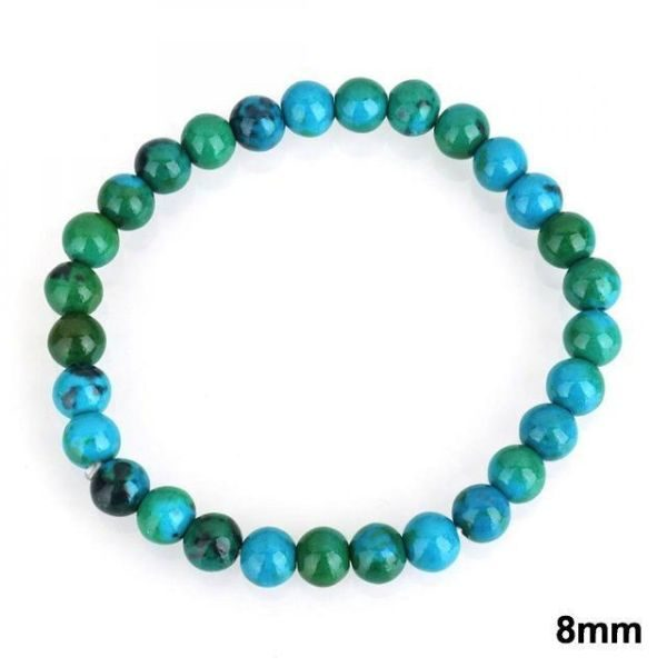 Chrysocolla Stone 8mm