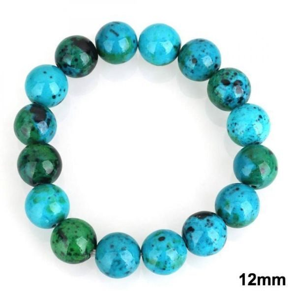 Chrysocolla Stone 12mm
