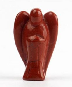 Red Jasper Pocket Angel