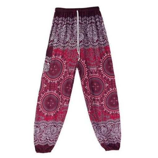 high waist harem trousers