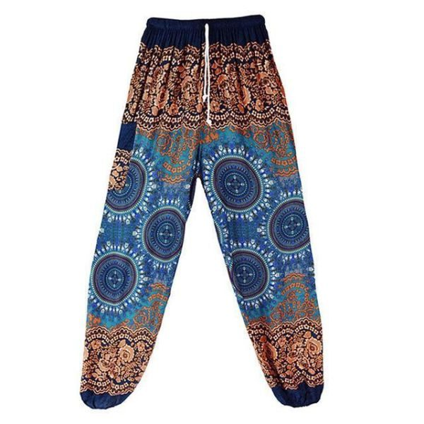 high waisted genie pants