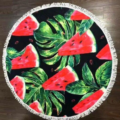 Microfiber watermelon Beach Towel