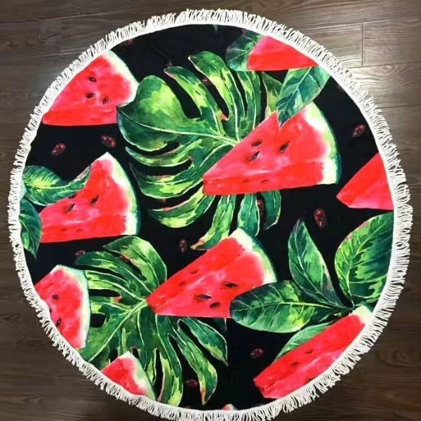 Microfiber watermelon Beach Towel