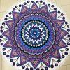 Round Mandala Microfiber Beach Towel (5)