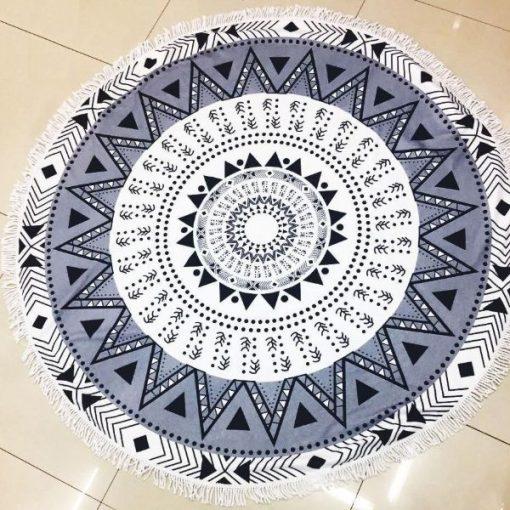Round circle Beach Towel