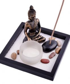 Buddha Zen Sand Garden Incense Holder