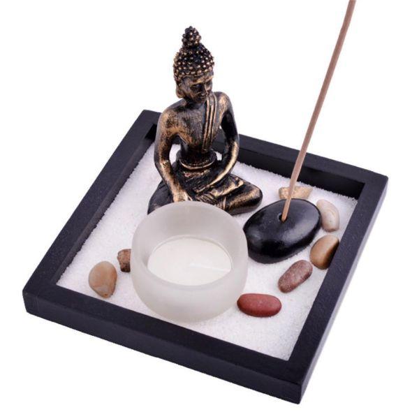 Zen Sand Garden Incense Holder