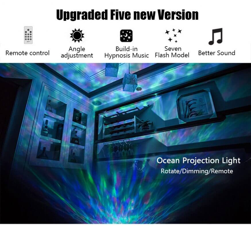 best ocean ceiling projector