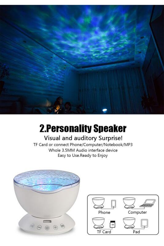 best ocean wave light projector