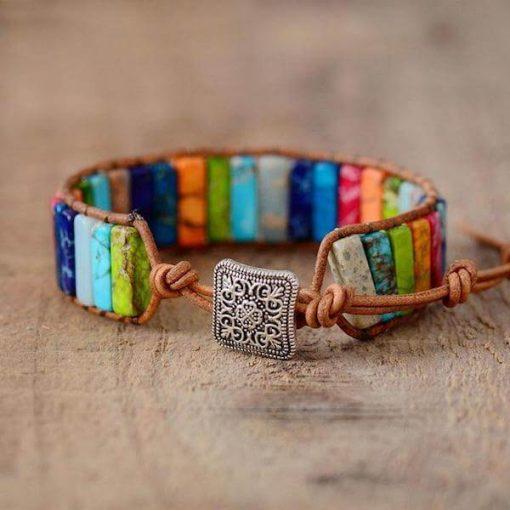 Beads Leather Bracelet