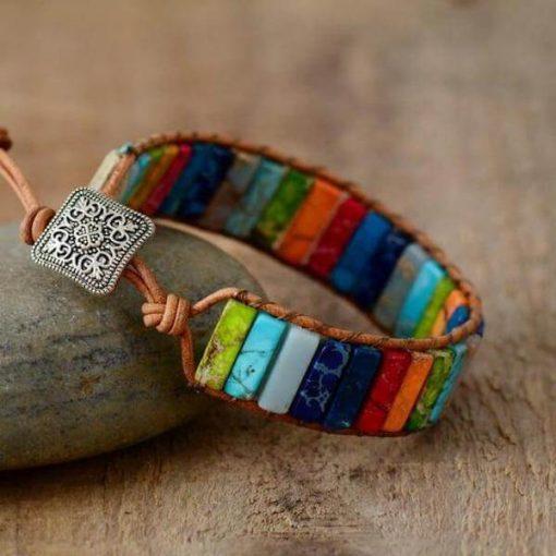 Jasper Beads Bracelet