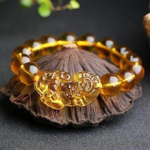 Citrine Pi Xiu Wealth Bracelet