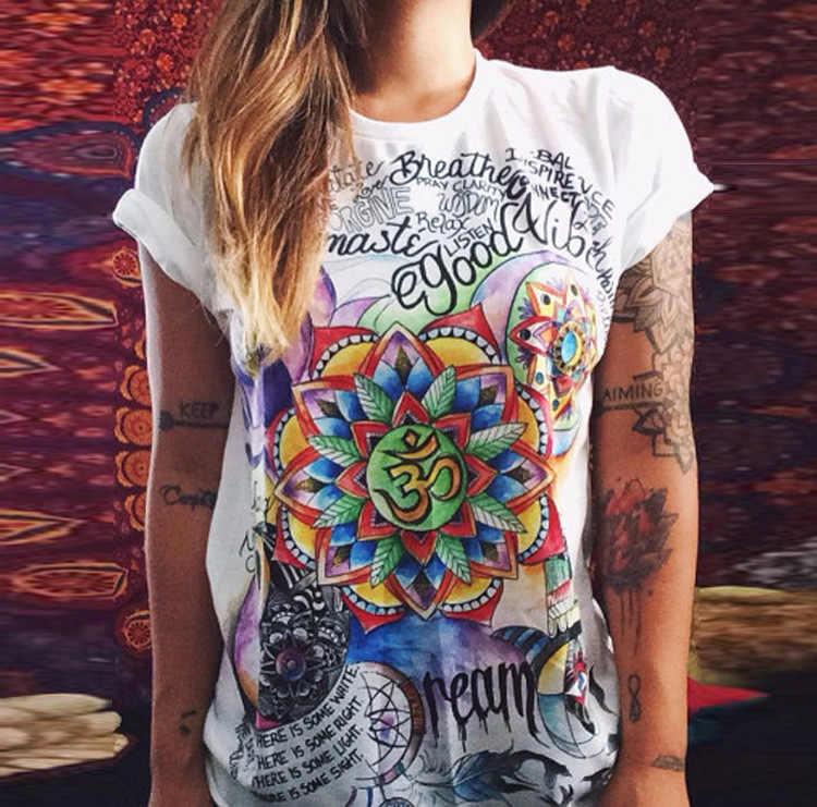 Vivid Om Mandala Women's T-Shirt