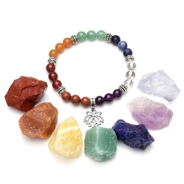 Chakra Crystals Bracelet