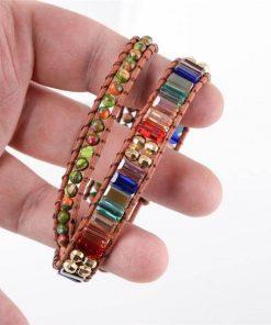 Rainbow Beads Bracelet