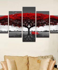 Tree Canvas Art