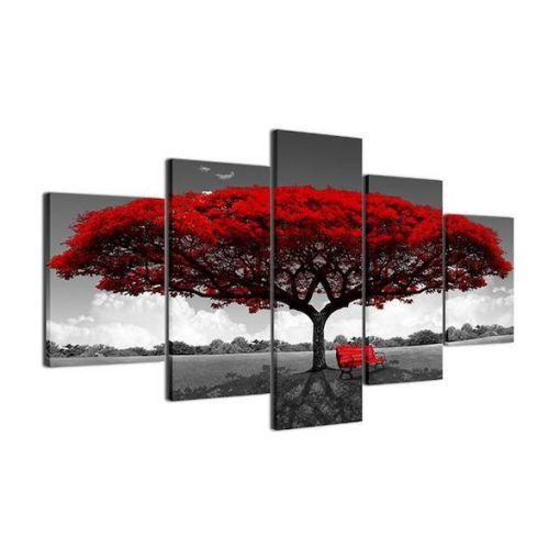 Tree Canvas Wall Art
