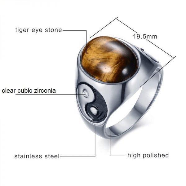 Yin Yang Ring