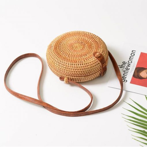 Boho Straw Handbag