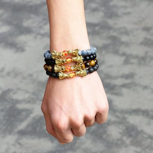 Dragon Lava Bracelet