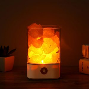 Crystal Himalayan Salt Light