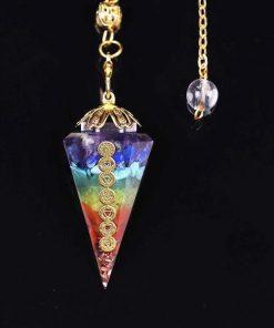 chakra healing orgonite pendulum