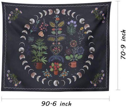 Botanical-Moon-Phase-Tapestry